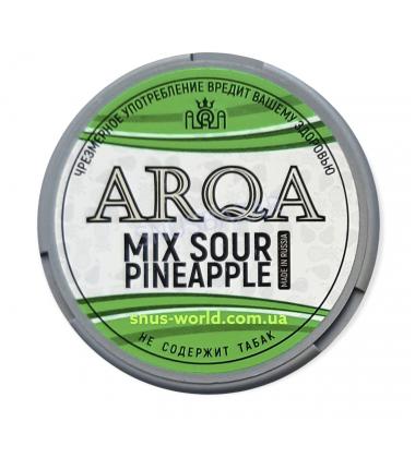 Снюс Arqa Sour Pineapple купить Ӏ Snus-World