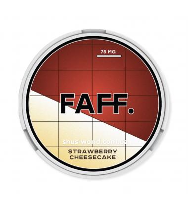 Снюс FAFF Strawberry Cheesecake Купить