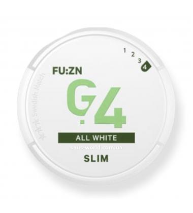 G.4 FU:ZN Slim All White