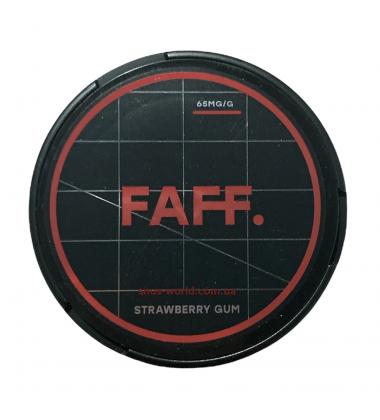 Снюс FAFF Strawberry Gum Купить