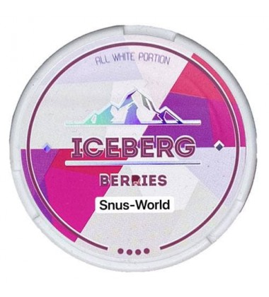 Iceberg Berries Ӏ Snus-World