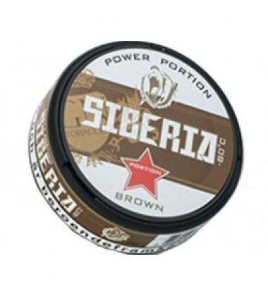 Снюс Siberia Brown White Dry Купить